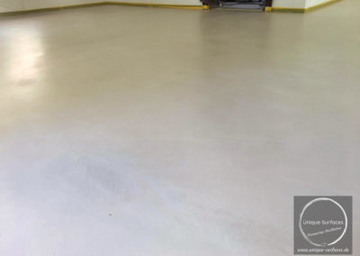 Microtopping-Betonfloor-Spachtelboden